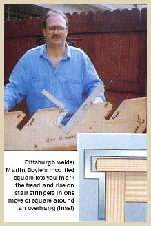 Article in Woodworker's Journal - April 2003